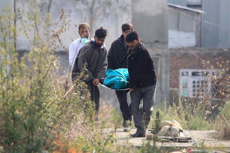 Granat meledak di Kashmir satu tewas, 14 luka-luka