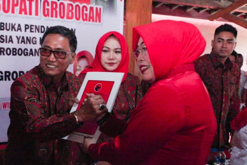 Tujuh pendaftar bersaing rebut rekomendasi PDIP di Pilkada Grobogan