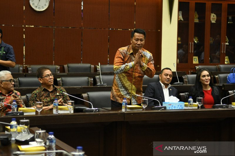 Politisi Gerindra Supratman Andi Agtas terpilih menjadi Ketua Baleg DPR