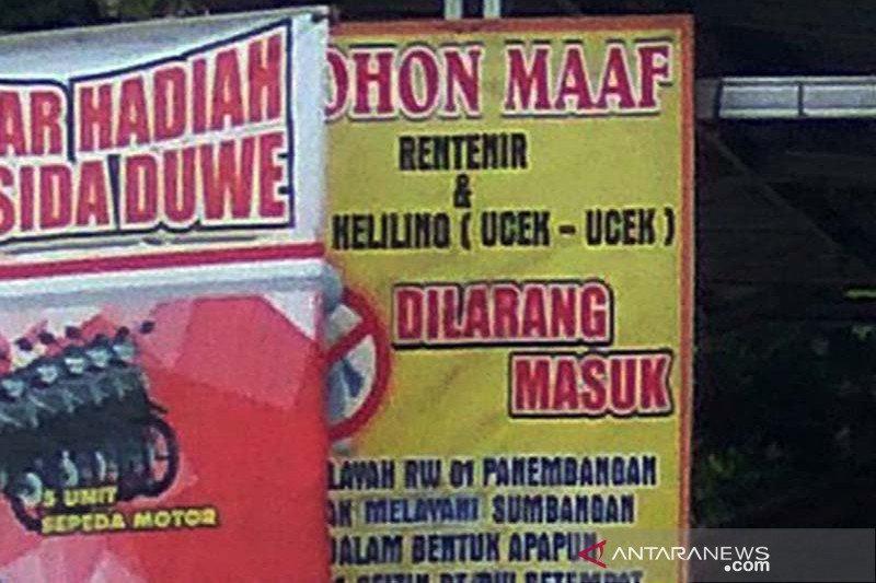 Rentenir Bank Emok di Kota Sukabumi akan diberantas