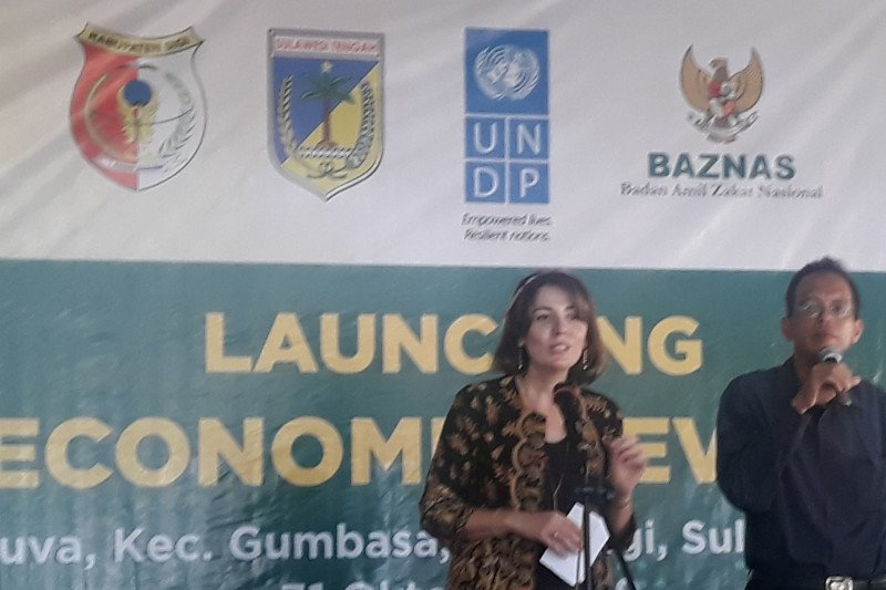 UNDP bantu 80 ribu dolar AS dukung ketahanan ekonomi penyintas Sigi