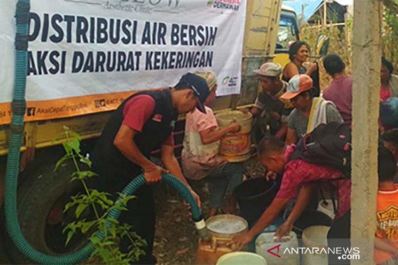 ACT distribusikan air bersih di Karangasem-Bangli-Buleleng