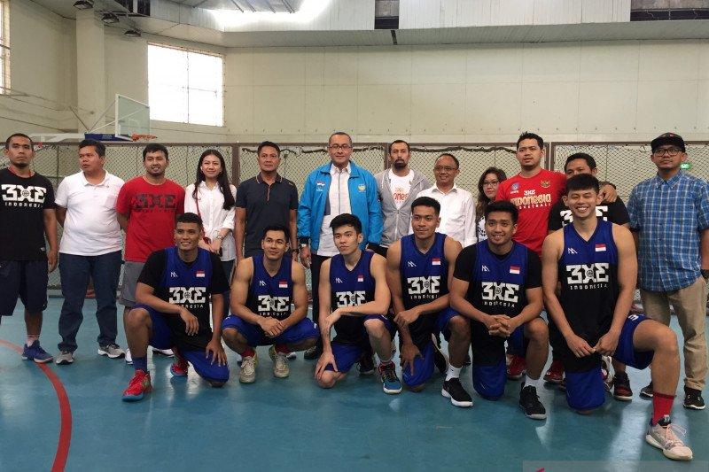 Timnas basket 3x3 putra optimistis rebut emas SEA Games 2019