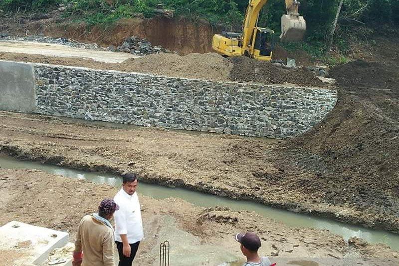 Bupati Dharmasraya giat bangun embung, antisipasi krisis air