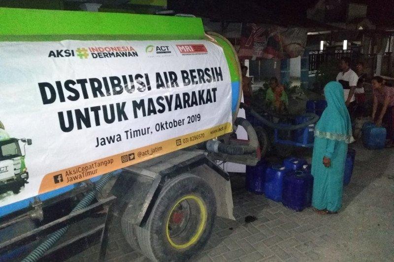 ACT Jatim salurkan bantuan air bersih di musim kemarau