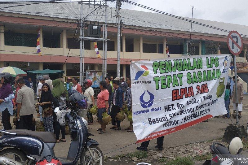 Pertamina gelar operasi pasar elpiji bersubsidi di Pontianak
