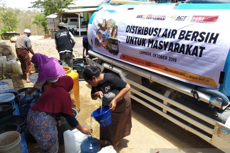 ACT-MRI salurkan air bersih untuk warga Lombok Barat