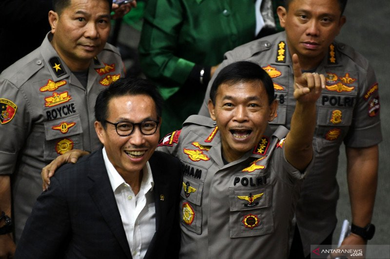Anggota DPR: Pencopotan Kapolda sinyal imbauan keras Kapolri