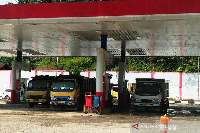 Baru 30 menit buka bio solar di SPBU Solok Selatan habis, sopir protes (video)