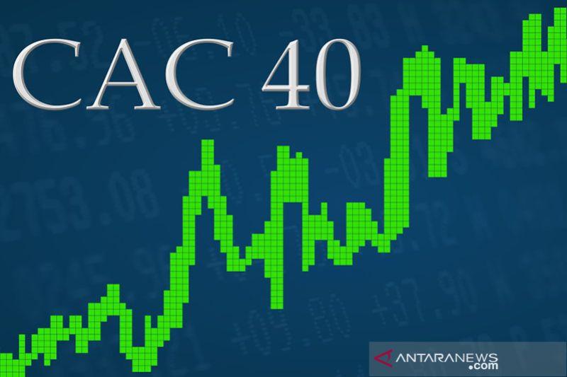 """Saham Prancis """"menghijau"""", indeks CAC 40 terangkat 1,57 persen"""