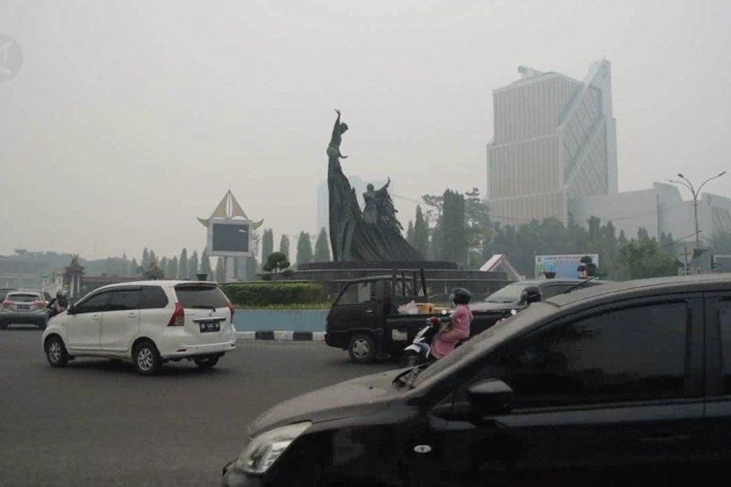 Status darurat pencemaran udara di Riau resmi dicabut