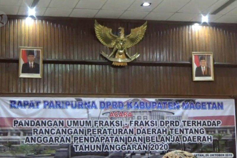 Sepekan dilantik, DPRD Magetan belum pasang foto Jokowi-Ma'ruf