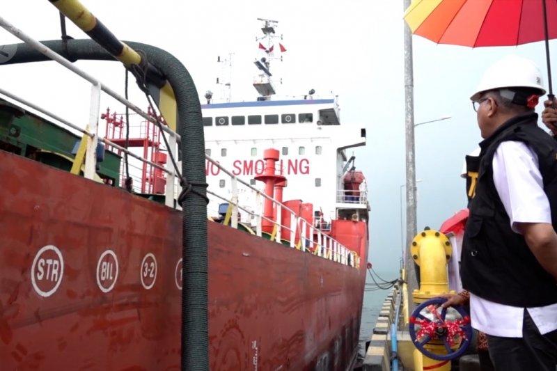 Ekspor perdana CPO dari Pelabuhan Calang ke India