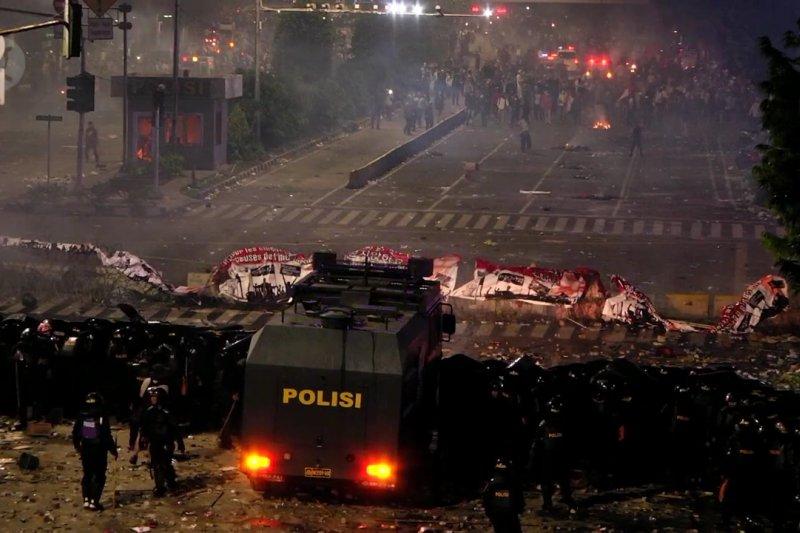 Polri tolak saran Ombudsman terkait aksi demo 21-23 Mei