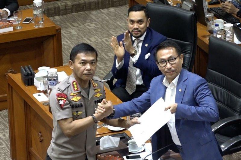 Idham Azis terpilih aklamasi menjadi calon kapolri