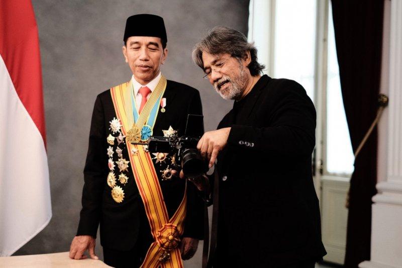 Cerita Darwis Triadi memotret Jokowi-Ma'ruf