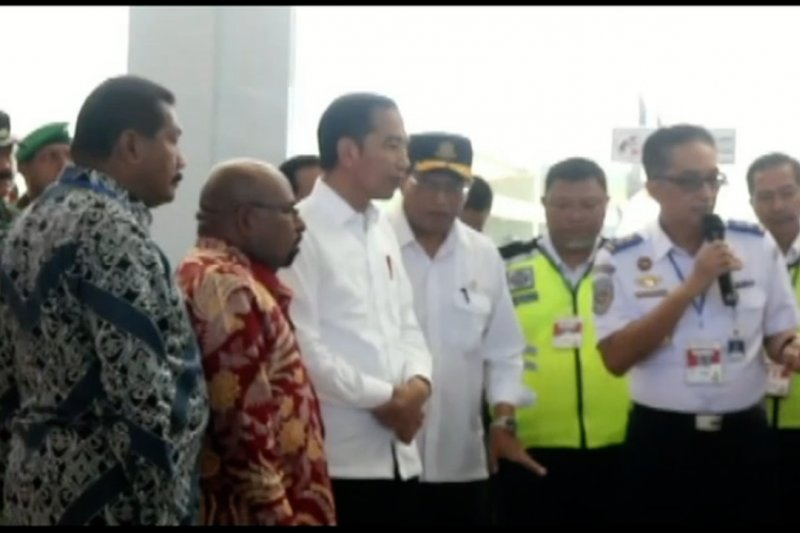 Presiden tinjau pembangunan Pasar Woma Wamena Papua