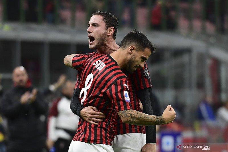 AC Milan menang perdana di bawah pelatih Stefano Pioli