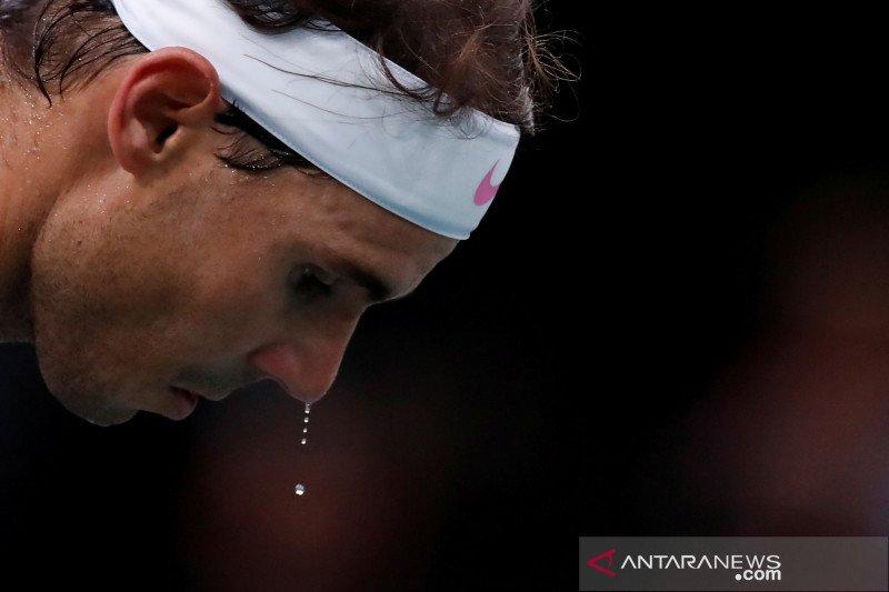 Nadal intip peluang kemenangan perdana ATP Finals