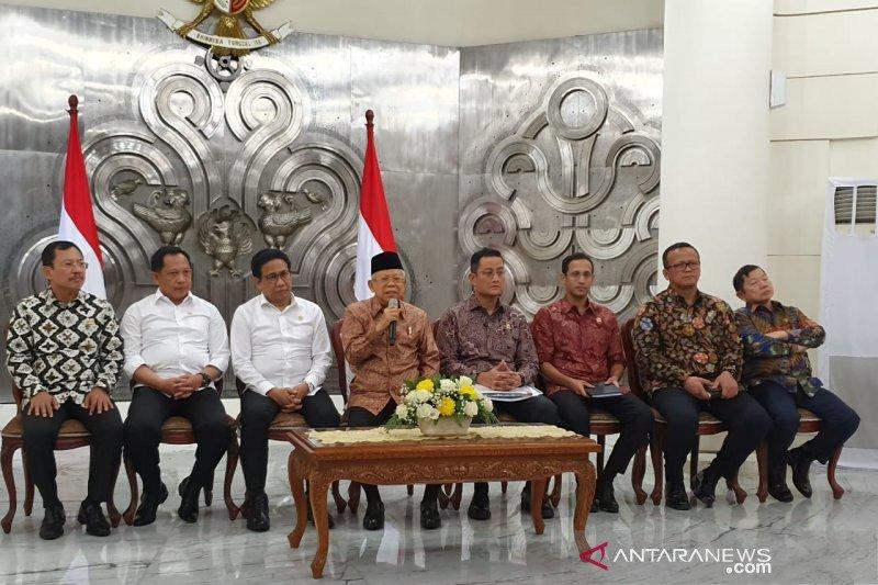 Ma'ruf ditugasi Jokowi urus pembangunan SDM dan ekonomi