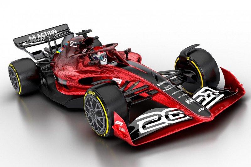 Para pebalap mengomentari desain mobil F1 2021