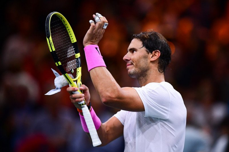 Nadal sumpal Tsonga untuk maju ke semifinal Paris Masters