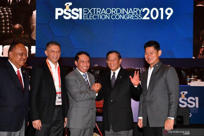 Cucu Somantri dan Iwan Budianto jabat wakil Ketum PSSI