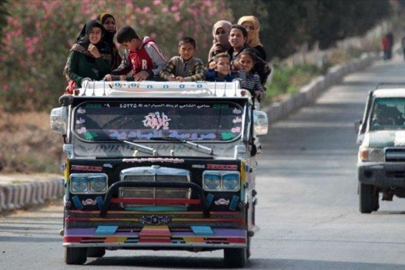 PBB: 94.000 orang Suriah telah pulang ke rumah mereka