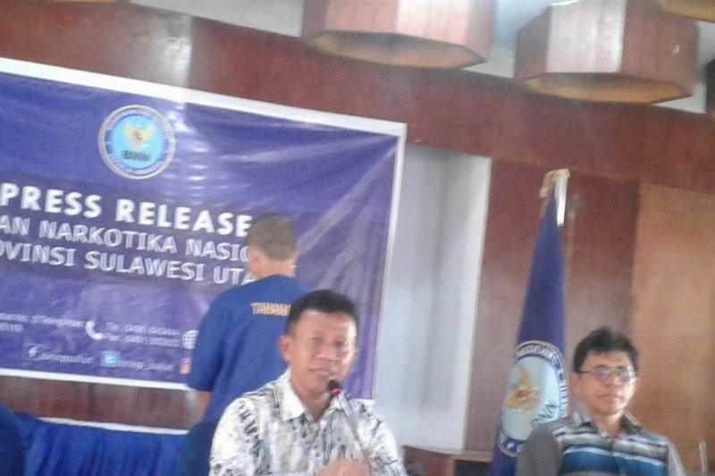 BNNP Sulut ringkus pengedar ganja antarpulau
