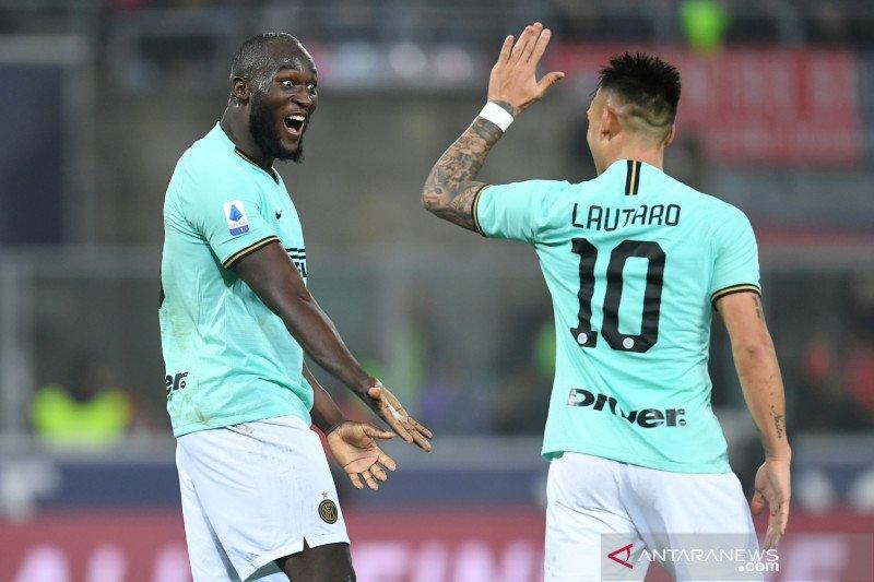 Gol Lukaku menangkan Inter Milan 2-1 atas Bologna