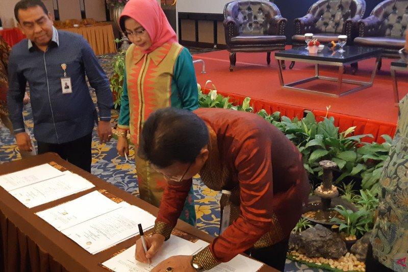 Bulog-Pemprov Sulawesi Tenggara  teken MoU pengadaan beras ASN