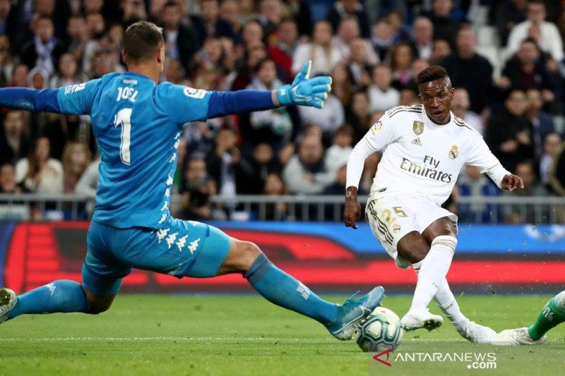 Real Madrid di kandang gagal kalahkan Real Betis