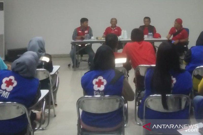 PMI mengajak relawannya untuk siap siaga dan respon bencana