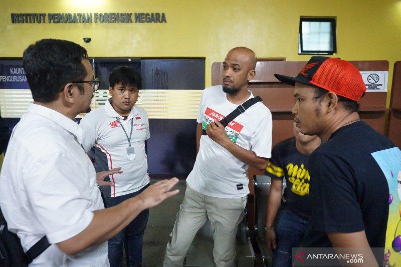 Jenazah pebalap Indonesia yang meninggal di Sirkuit Sepang tuntas diotopsi