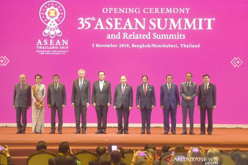 Jokowi sampaikan  pentingnya kepercayaan strategis demi stabilitas LCS