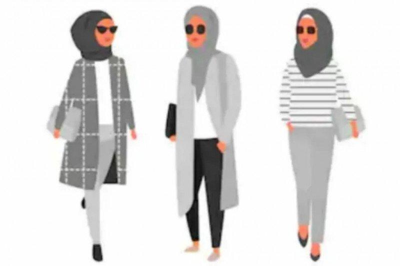 Hijab sederhana dengan satu jarum untuk ragam busana