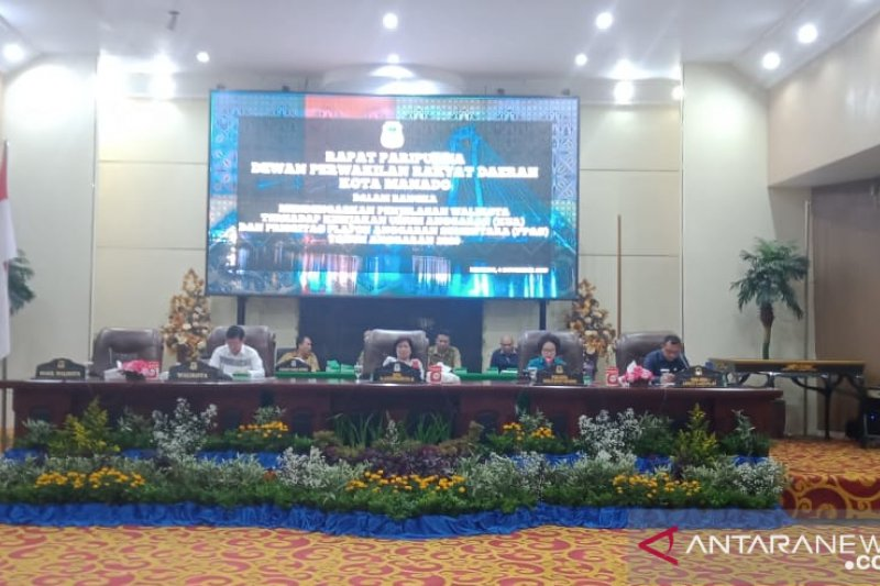 DPRD Manado gelar paripurna penyampaian KUA-PPAS 2020