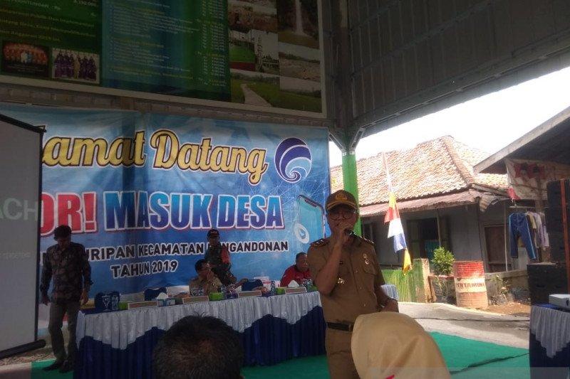 Diskominfo  OKU sosialisasikan program Lapor hingga ke pelosok desa