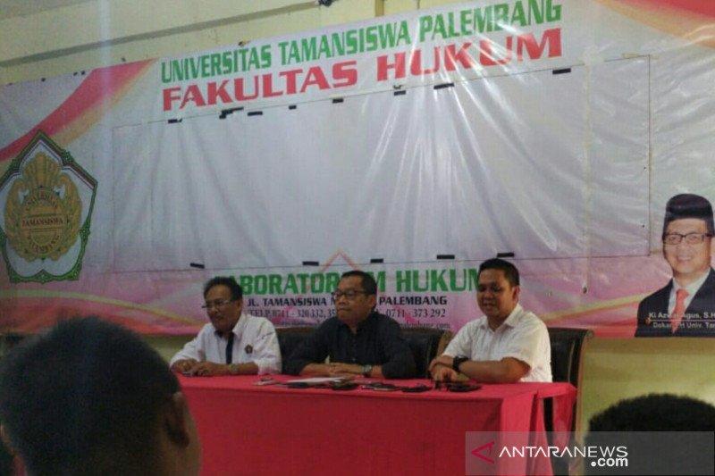 Rektor Unitas Palembang tetap dukung  Menwa meski jatuh korban