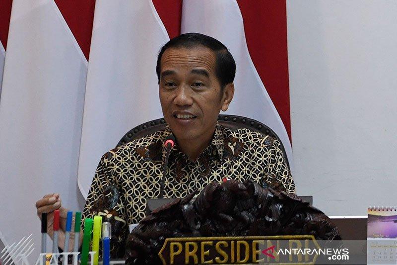 Pesan @Jokowi di Twitter: Cuitan didominasi pesan normatif