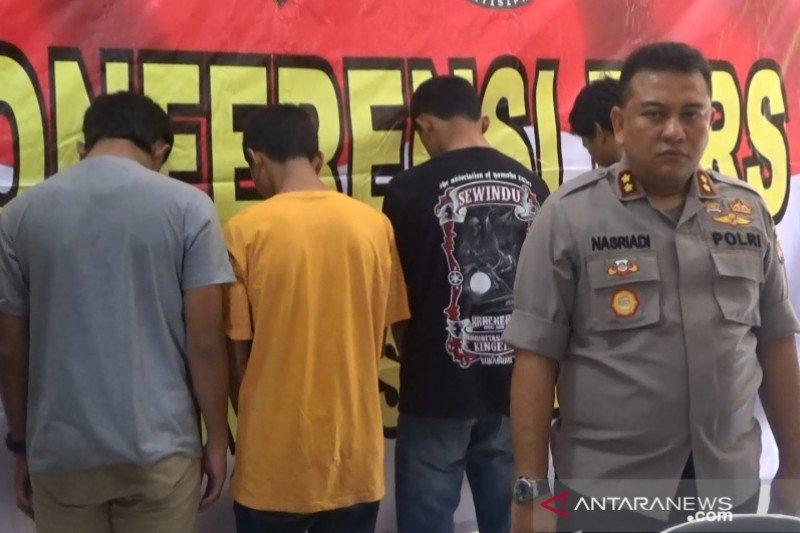 Empat remaja tersangka kasus tewasnya pelajar di Sukabumi