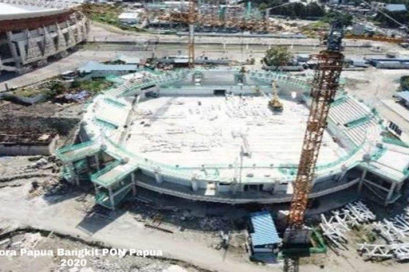 Kementerian PUPR targetkan empat venue PON Papua dapat rampung Juni 2020
