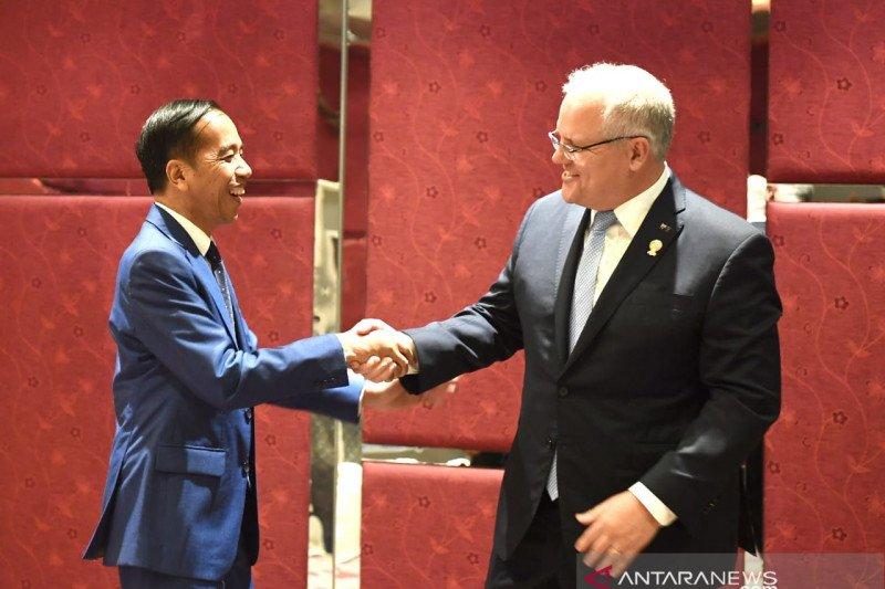 Berkunjung ke Australia, Jokowi akan bahas ratifikasi IA-CEPA