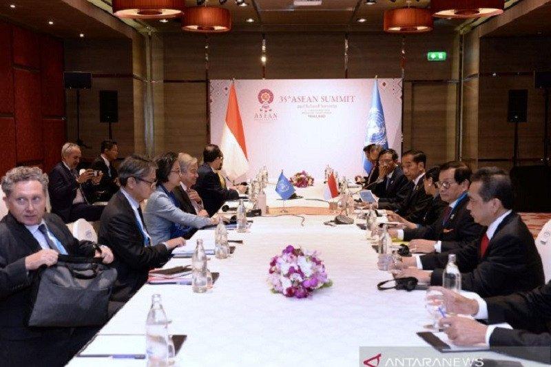 Sekjen PBB menghargai peran Indonesia di Dewan Keamanan PBB dalam jembatani perdamaian dunia
