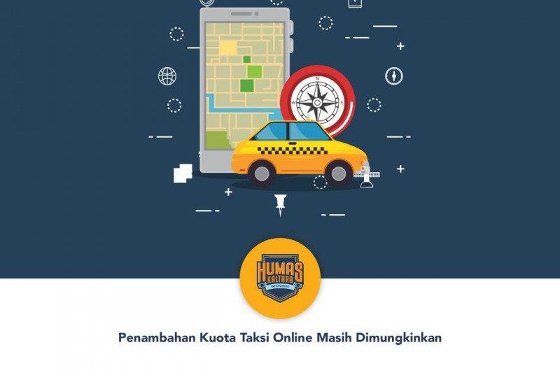 Penambahan Kuota Taksi Online Masih Dimungkinkan