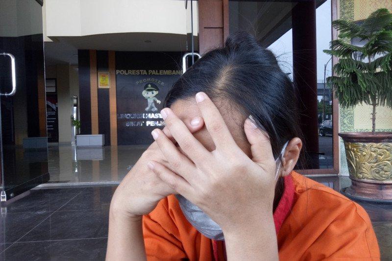Polresta Palembang amankan perempuan  bunuh bayi dengan mesin cuci