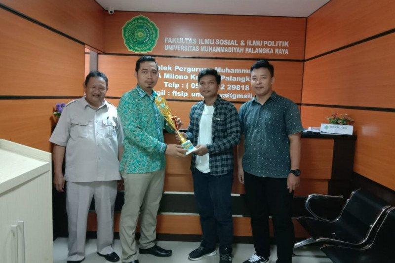 Fisipol juara turnamen futsal antar fakultas di UM Palangka Raya