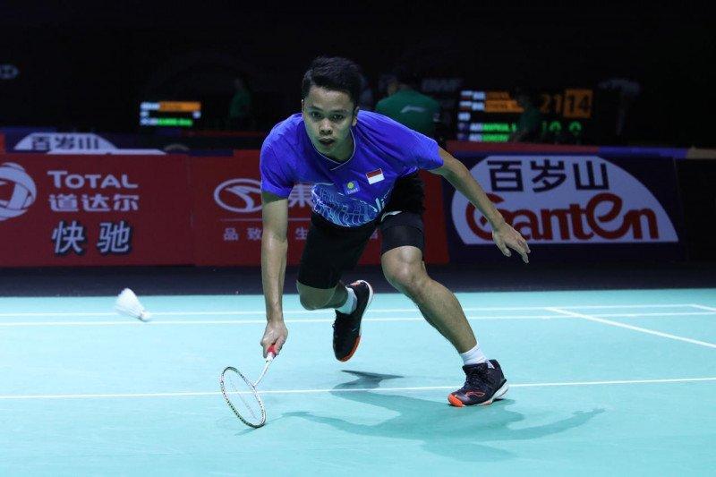 Anthony susul Jonatan ke babak perempat final Hong Kong Open 2019