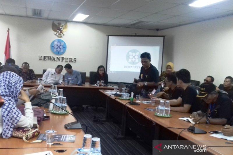 Jurnalis Kota Solok gelar diskusi kelompok ke Dewan Pers