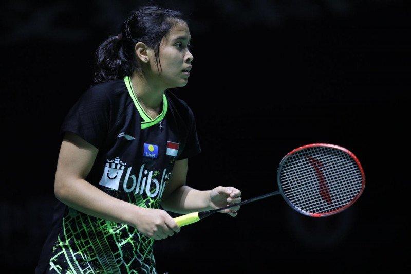 Fuzhou China Open 2019, Gregoria ditekuk  unggulan pertama